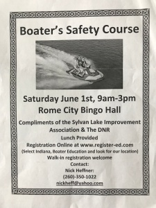 Boater Safety Course Available Nearby